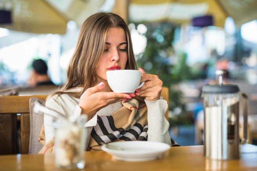 café para bajar de peso